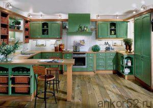 кухни-зеленого-цвета (10)